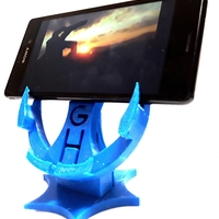 Small Phone stand 3D Printing 211081