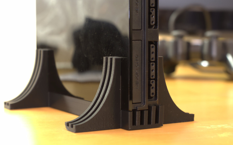 PlayStation2 Slim Stand 3D Print 21110