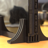 Small PlayStation2 Slim Stand 3D Printing 21110