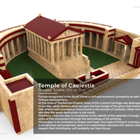 Small Carthage - Temple of Caelestis (Restitution) - 222 BC 3D Printing 211184