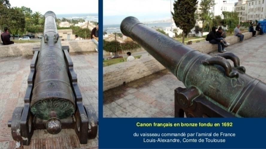 Bronze Cannon - The Count of Toulouse - 1692 3D Print 211260