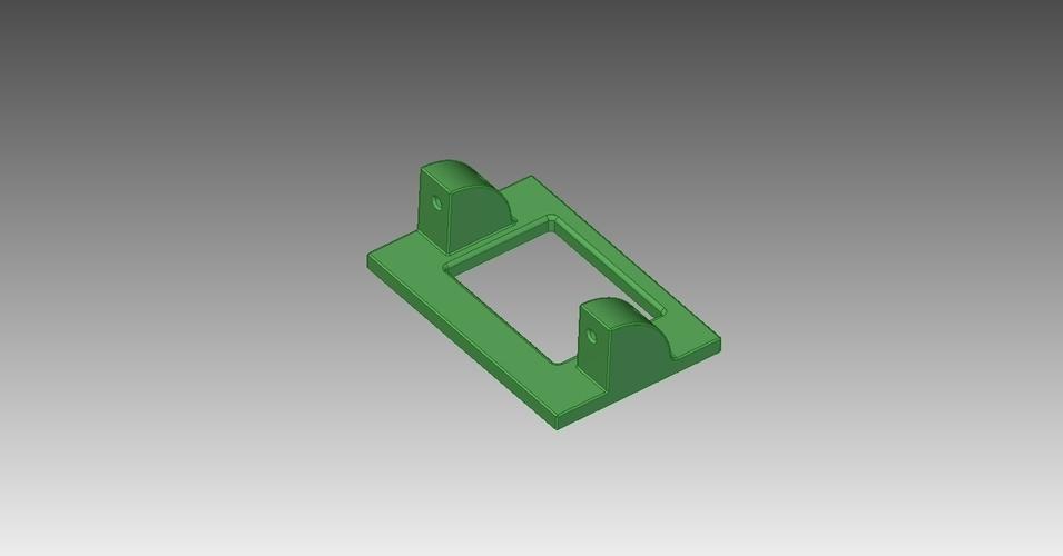 Hextronic HXT900 Servo holder 3D Print 211307