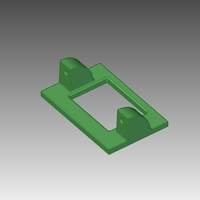 Small Hextronic HXT900 Servo holder 3D Printing 211307