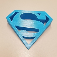 Small SUPERMAN door stopper 3D Printing 211343