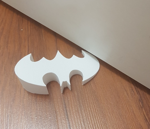 BATMAN door stopper 3D Print 211354