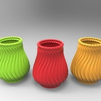 Small Deco Vase 3D Printing 211441