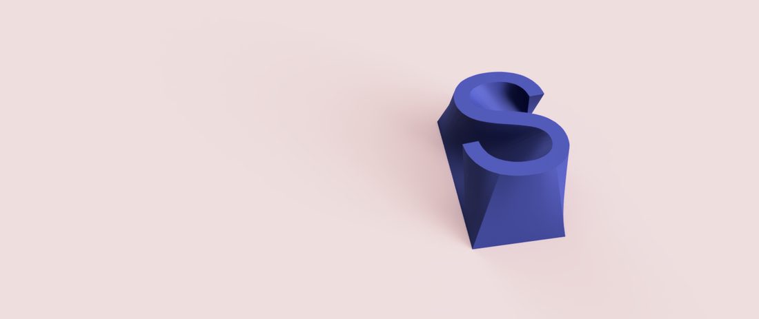 S - INITIAL STAND (great custom gift) 3D Print 211451