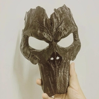 Small Death Mask - Darksiders 3D print model 3D Printing 211499