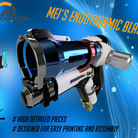 Small DIY Overwatch real size Mei Endothermic Blaster HQ printable kit 3D Printing 211502