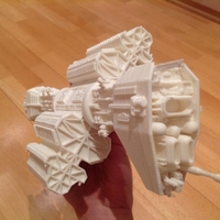 Small Babylon 5 Omega destroyer 3D Printing 211586