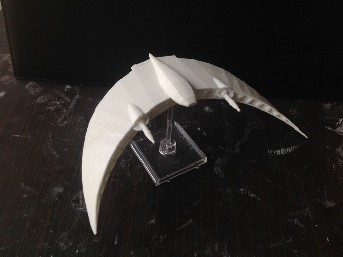 Babylon 5 Sentri fighter 3D Print 211697