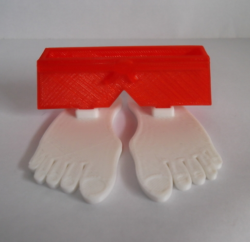 Big Feet Phone Stand. 3D Print 21171