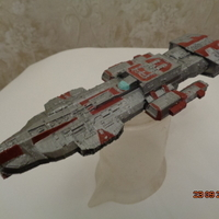 Small Stargate Atlantis ancient battlecruiser 3D Printing 211760