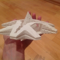 Small Stargate SG-1 Guauld Hatak  3D Printing 211789