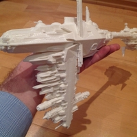 Small Star Wars Nebulon B frigate 3D Printing 211823