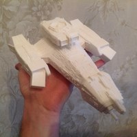 Small Nostromo spaceship from Alien movie 3D Printing 211933