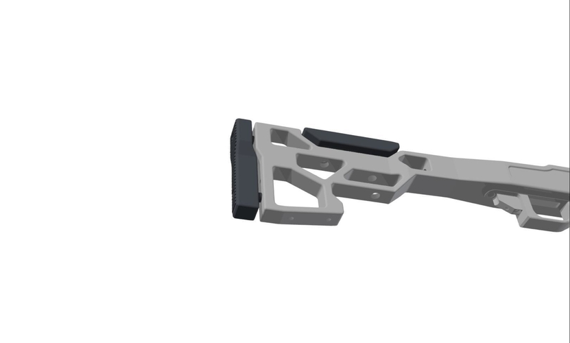 LSP Tactical Vsr 10 stock 3D Print 212009