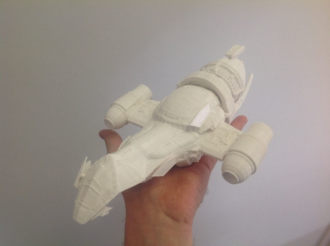Firefly Serenity spaceship from Firefly 3D Print 212069