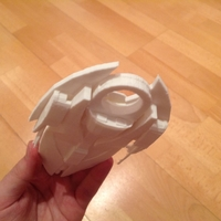 Small Stargate SG-1 Ori fighter 3D Printing 212170