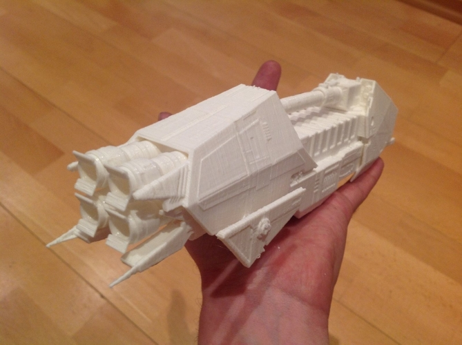 Star Wars Wild Karrde Action VI spaceship 3D Print 212258
