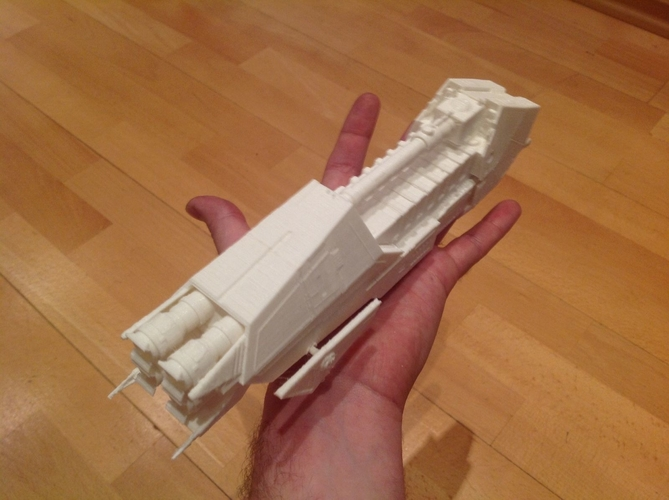 Star Wars Wild Karrde Action VI spaceship 3D Print 212259