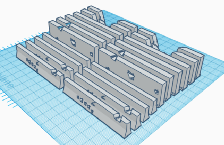 Road Barriers 3D Print 212336