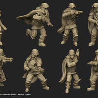 Small Grunge Trooper Bundle 3D Printing 212340