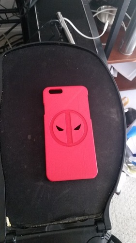 Deadpool iPhone 6 Case 3D Print 21235