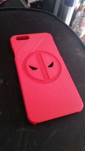 Deadpool iPhone 6 Case 3D Print 21236