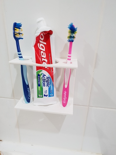 Toothbrush Caddy 3D Print 212370