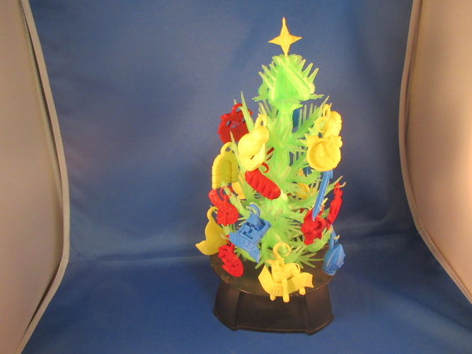 Christmas Scripture Tree 3D Print 212497