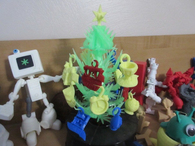 Christmas Scripture Tree 3D Print 212499