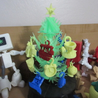 Small Christmas Scripture Tree 3D Printing 212499