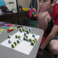 Small Thrones and Bones Board Game - Kid Made 3D Printing 212528