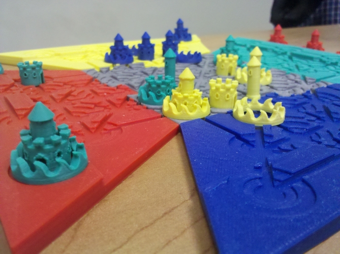Troke - Castle Chess Game 3D Print 212544