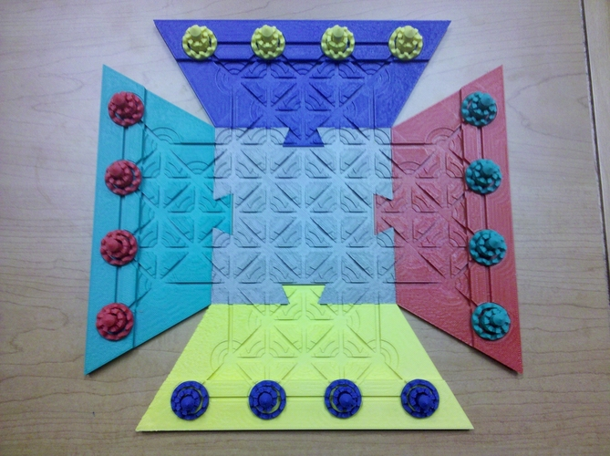 Troke - Castle Chess Game 3D Print 212545