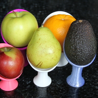 Small Fruit Pods (1) 3D Printing 21255
