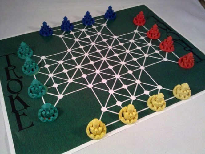 Troke - Castle Chess Game 3D Print 212550