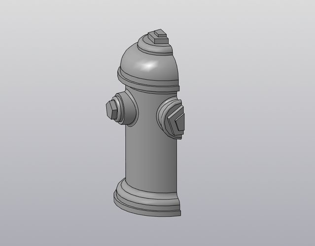 Fingerboard Fire Hydrant 3D Print 212599