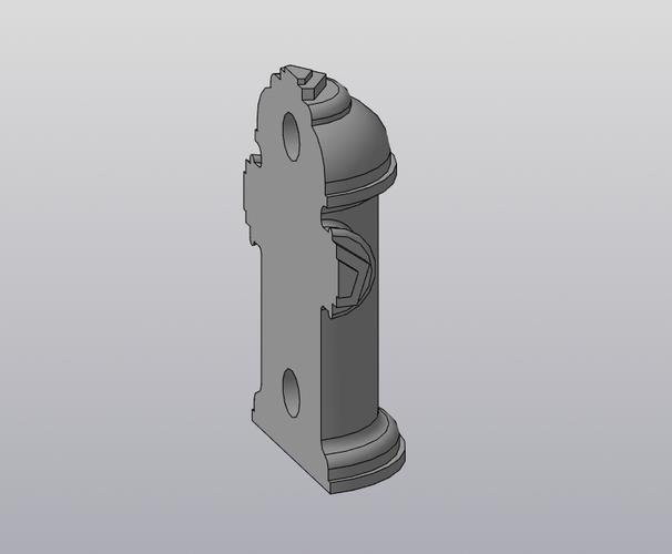 Fingerboard Fire Hydrant 3D Print 212601