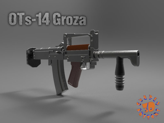 OTs-14 Groza A Russian Assault Rifle 3D Print 212707