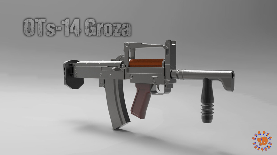OTs-14 Groza A Russian Assault Rifle 3D Print 212708