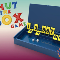 Small Shut The BOX Game 3D Printing 212926