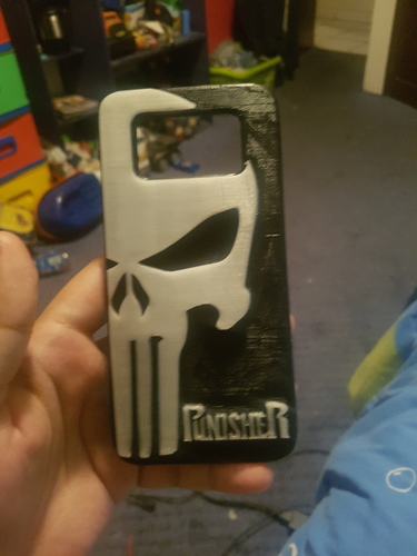 Punisher Case Galaxy s7 edge 3D Print 212972