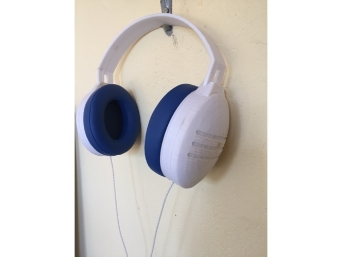 Tremors - A 3D printed customizable Headphone 3D Print 213141