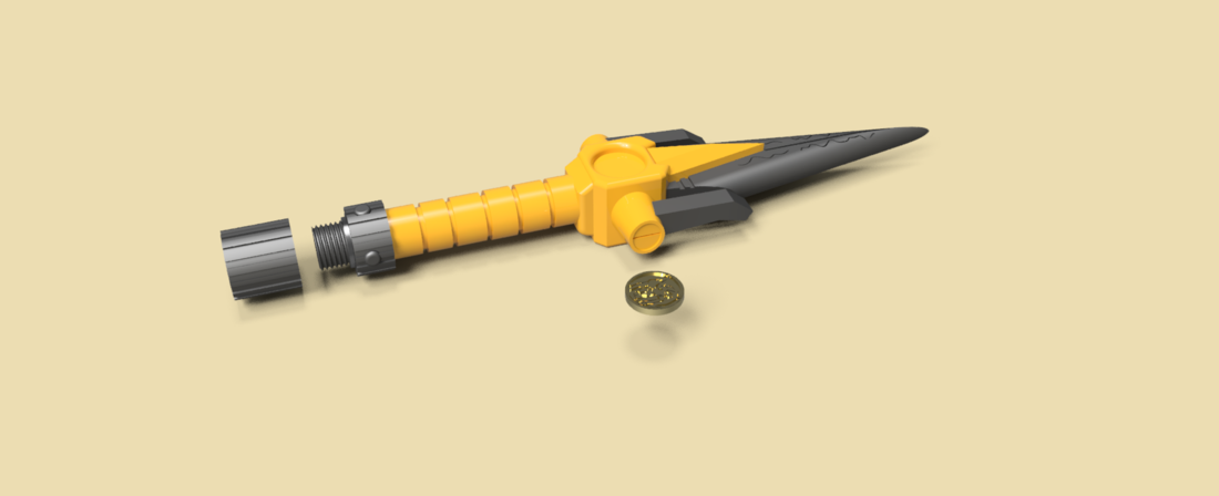 power dagger super sentai ranger amarillo