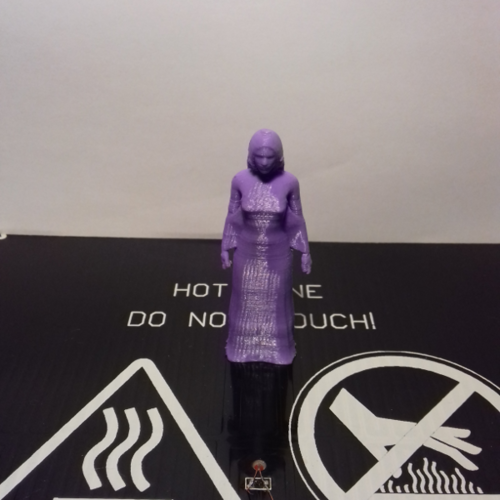 Female Figurine 1 - Pose 1 - Standing 3D Print 213364
