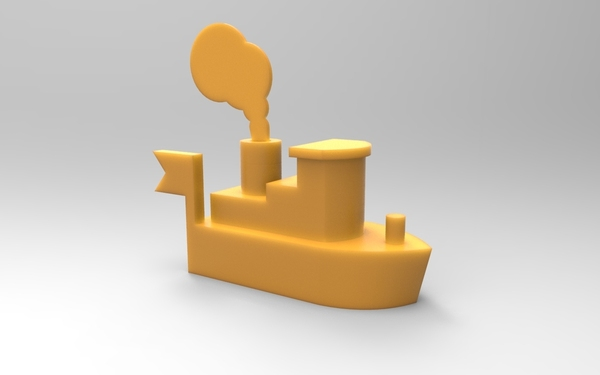 Medium Toy ship 3D Printing 21340