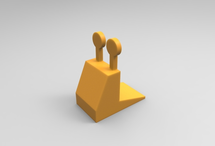 Snail door stopper 3D Print 21347
