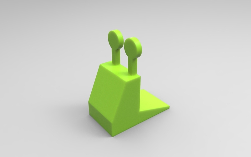 Snail door stopper 3D Print 21348